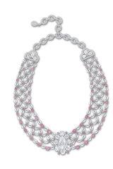 Modi's 12.29-carat Golconda diamond necklace.