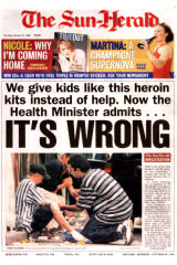 This front page on January 31, 1999 was instrumental in leading to the Drug Summit later that year.