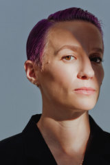 Megan Rapinoe, the 35-year-old pink-haired soccer star and gender equity campaigner, is one of the new faces of Victoria's Secret.