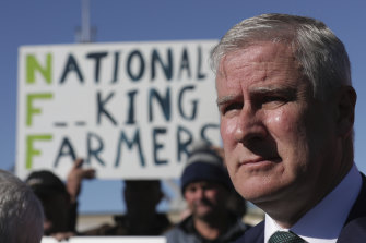 It will take more than speeches by Michael McCormack, pictured, to repair damage to the Nationals.