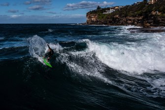 Abnormally large surf is expected this weekend.