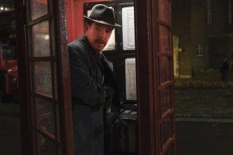Benedict Cumberbatch as Greville Wynne in spy thriller The Courier.