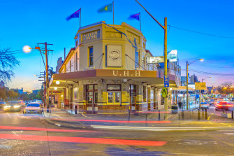 Balmain hospitality jewel in the crown, The Unity Hall Hotel, is on the market.
