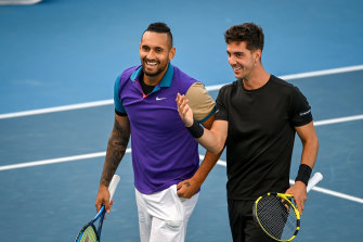 Nick Kyrgios and Thanasi Kokkinakis.