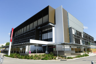 The man is being treated in Townsville Hospital's ICU.