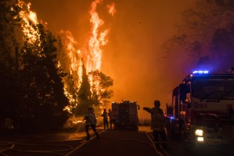A number of extreme events, such as bushfires, have at least part of their root linked to the rise in global temperature, one of the report's authors said.