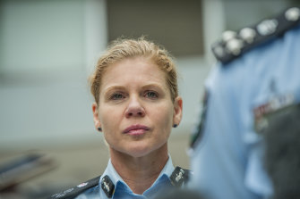 Federal Police Commander Justine Gough.