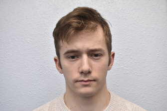 After 32 hours of deliberation, the jury at London's Old Bailey court found 22-year-old Benjamin Hannam guilty on Thursday, April 1, 2021 of being a member of the extremist group National Action.