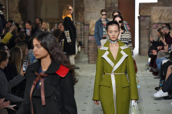 Lanvin, at Paris Fashion Week in February, is one of the houses to have hired younger to remain relevant.