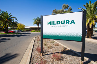 Mildura Hospital is taking precautions after a patient tested positive to COVID.