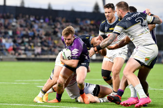 Both the Melbourne Storm and Townsville-based Cowboys will be able to fly in and out for their away matches.