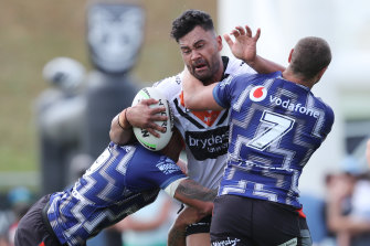 Zane Musgrove will add plenty of punch to the Wests Tigers pack after a two-year hiatus.