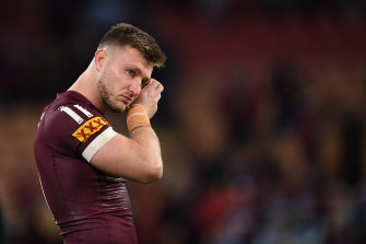 Jai Arrow was kicked out of Maroons camp this week.