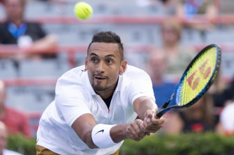 The ATP is still determining if further action will be taken against Nick Kyrgios.