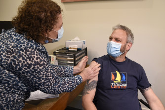 Many of the states' chief health officers, including Victorian Chief Health Officer Brett Sutton, have  received the AstraZeneca vaccine.