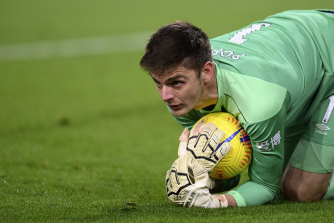 Nick Pope made a brilliant save for Burnley.