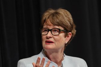 """CBA chairman Catherine Livingstone: """"The closed borders are not good for the country."""""""