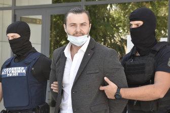 Bulgarian national Yuliyanov J Raychev Serafim, 33, was convicted of gunning down Sydney man John Macris in Athens in 2018.