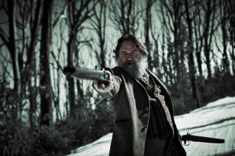 Russell Crowe as Harry Power in Justin Kurzel's True History of the Kelly Gang, coming to Stan, and to cinemas, in January 2020.