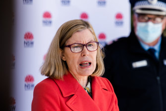 NSW Chief Health Officer Kerry Chant on Wednesday.