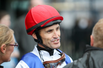 Leading rider Grant Buckley takes the reins on Peachies Dream on Thursday.