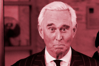 """Roger Stone: admitted to """"back-channel communication"""" with Julian Assange."""