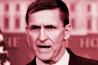 Michael Flynn: his consulting firm retroactively registered as foreign agents working on behalf of Turkey.