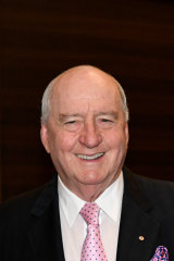 Broadcaster Alan Jones was the master of ceremonies for the event.