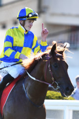 Ben Allen and Native Soldier at Caulfield on Sunday.