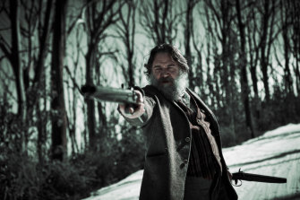 Russell Crowe as Harry Power in Justin Kurzel's <i>True History of the Kelly Gang</i>, coming to Stan, and to cinemas, in January 2020.