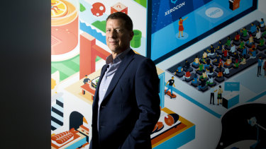 Steve Vamos was appointed chief executive of Xero earlier this year.