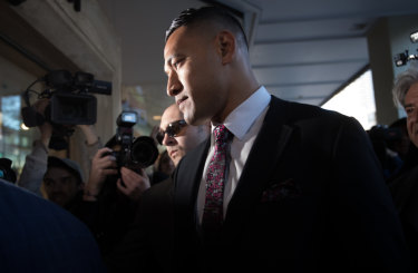 No resolution: Israel Folau and Rugby Australia are headed to the Federal Court.