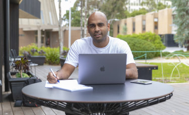 Kishan Thurairasa is the The Generator's entrepreneur in residence at Monash University.