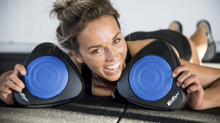 Sally Fitzgibbons uses Core Flyte.