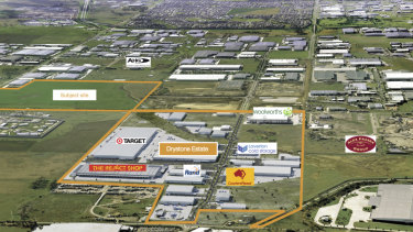 Charter Hall has acquired more land in Truganina, in Melbourne's west.