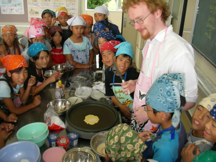 William Blakeley spent five years teaching in Japan and it changed his life.