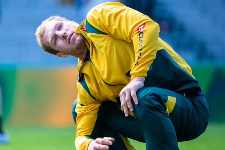 Sidelined: David Pocock has been ruled out of the South Africa Test due to injury.