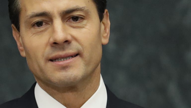 Mexico's President Enrique Pena Nieto has repeatedly pushed back against a Donald Trump proposal for Mexico to pay for a border wall.