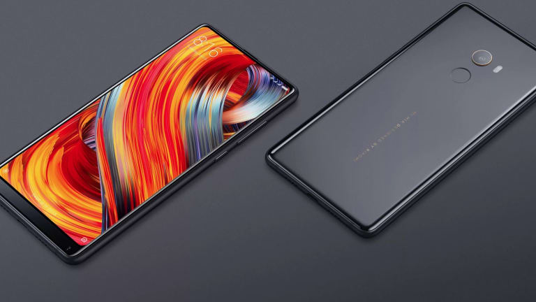 Xiaomi's latest smartphone, the Mi Mix 2.