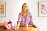 Natalie Battaglia, 37, mum of two boys joins a growing number of people taking a break from alcohol. She has a hobby of making mocktails and has her own mocktail site.
