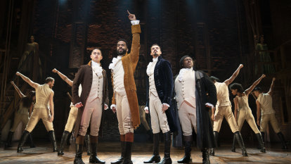 Hamilton the musical: 'This has absolutely changed my life'