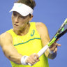 Stosur finds form on Spanish grass