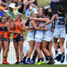 Carlton leave Giants blue to secure first AFLW win in over a year