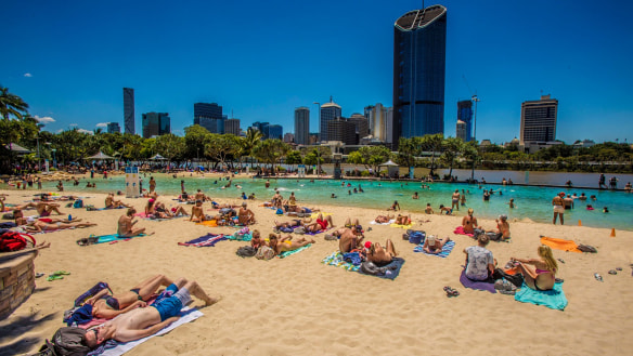 Brisbane expected to nudge warmest September day in decade on weekend