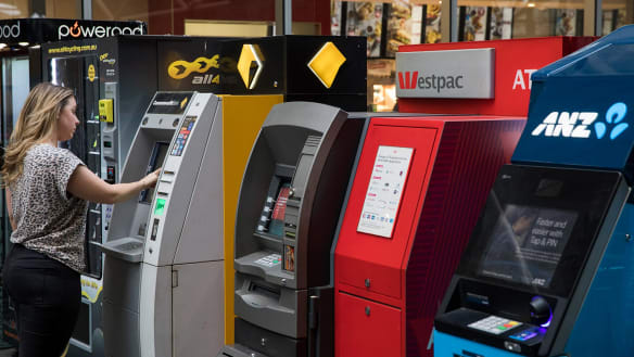 The RBA sees ATMs declining as we use less cash