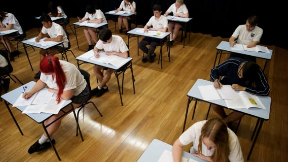 Reduce HSC pressure in favour of a 'growth mindset', NSW tells David Gonski