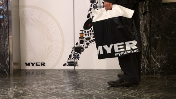 Bye fashionistas! Myer chases 'traditional' customers after $476m loss