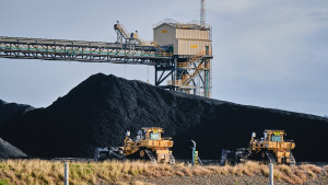 Shipments of coal, Australia's second largest export commodity