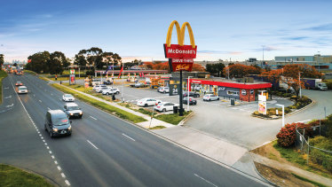 A 7-Eleven with a drive-through McDonald's sublease in Campbellfield on Melbourne's northern outskirts fetched $8.52 million.