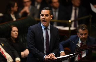 NSW Member for Sydney Alex Greenwich introduces the Reproductive Healthcare Reform Bill 2019 in the Legislative Assembly.